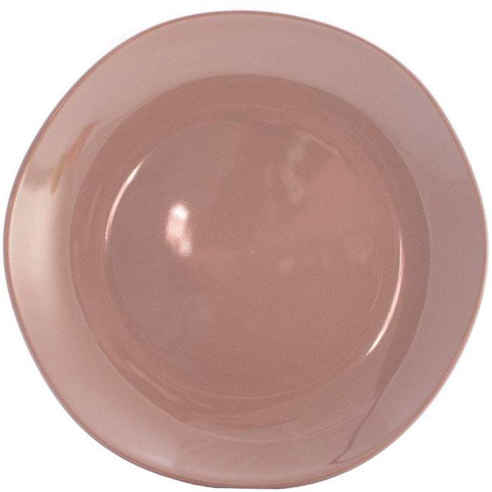 Обеденная тарелка Comtesse Milano Ritmo коричнево-серого цвета