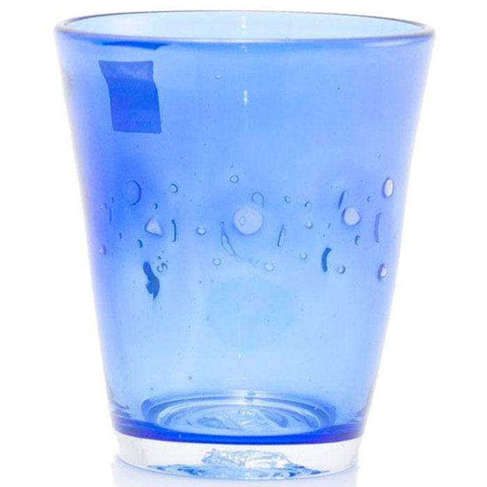 Набор стеклянных стаканов Comtesse Milano Samoa синего цвета
