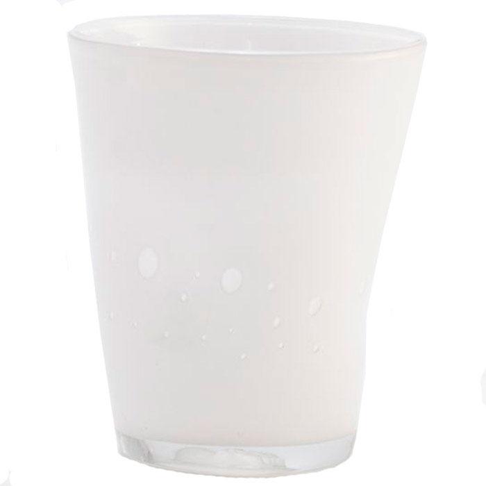 Набор стеклянных стаканов Comtesse Milano Samoa белого цвета