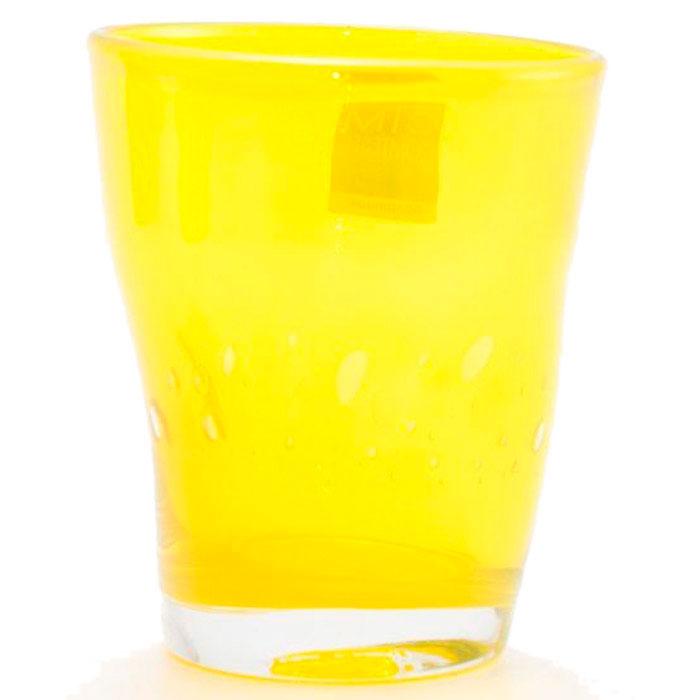 Набор стеклянных стаканов Comtesse Milano Samoa желтого цвета