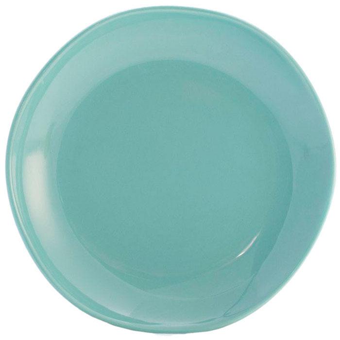 Десертная тарелка Comtesse Milano Ritmo бирюзового цвета