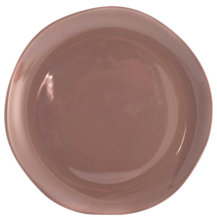 Блюдо Comtesse Milano Ritmo коричнево-серого цвета