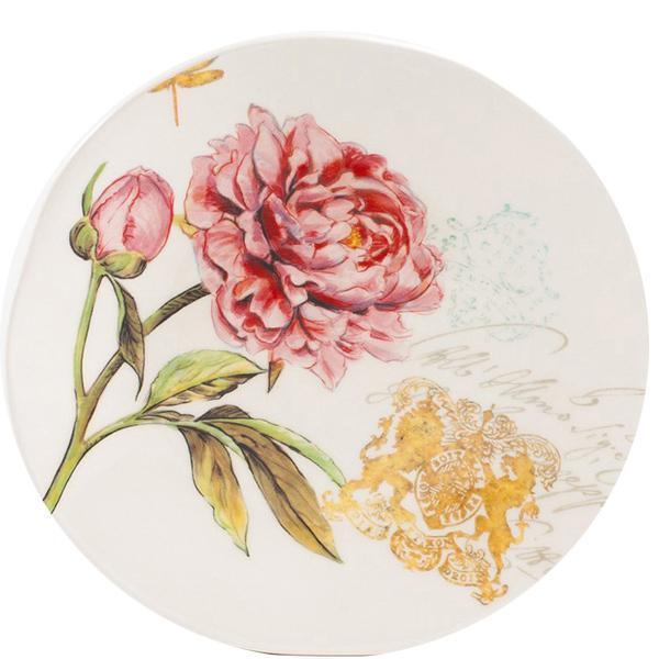Тарелка десертная Bizzirri Гортензия