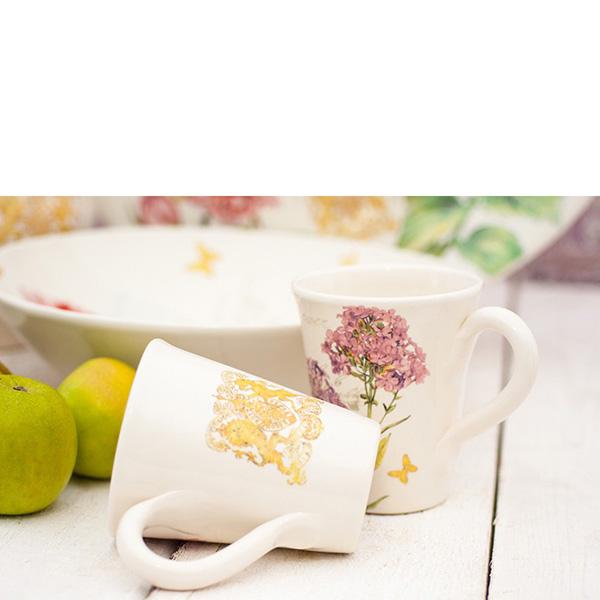 Чайная чашка Bizzirri Гортензия