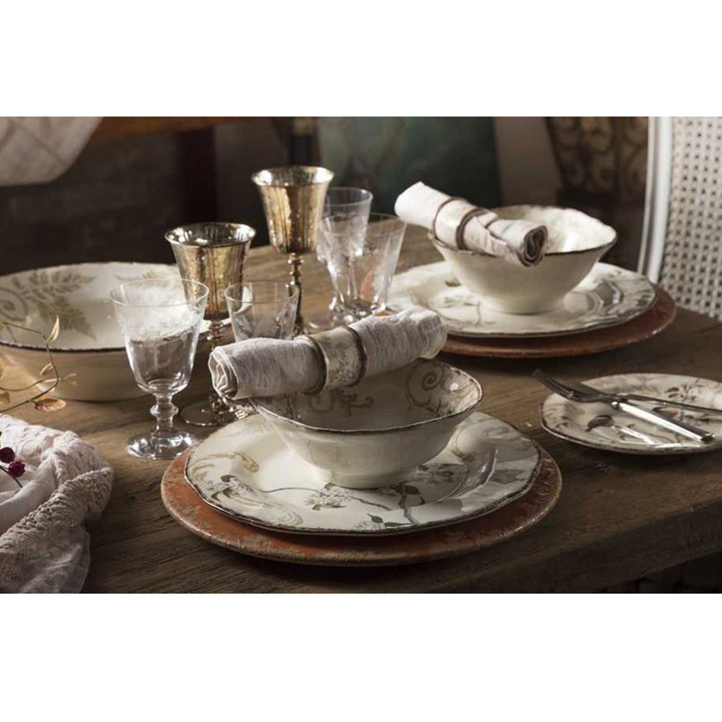 Набор обеденных тарелок Bizzirri Шопен