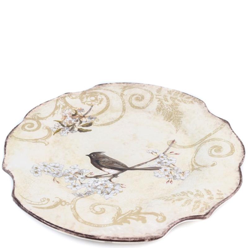Тарелка Bizzirri Шопен с волнистыми краями