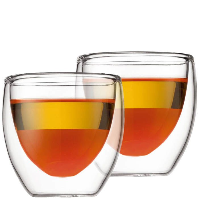 Набор из двух стаканов Bodum Pavina 0.08 л