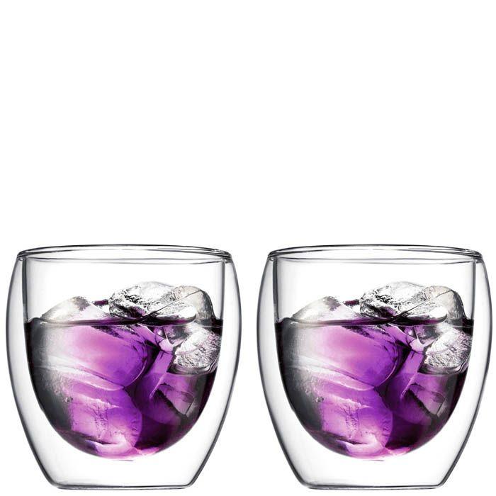 Набор из двух стаканов Bodum Pavina 0.27 л