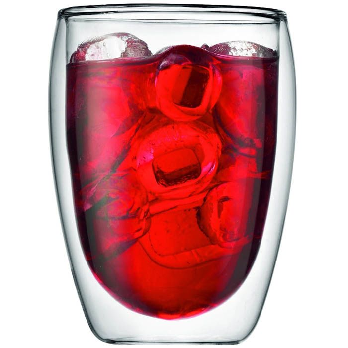 Набор стаканов Bodum Pavina с двойными стенками 360 мл