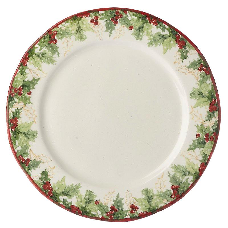 Тарелка обеденная Bizzirri Символы Рождества