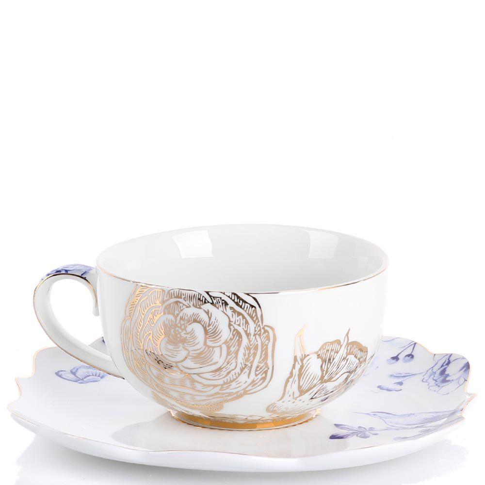 Чашка с блюдцем Pip Studio Royal 225 мл