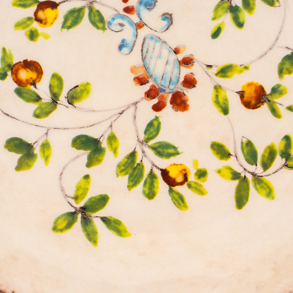 Набор из 6 десертных тарелок Bizzirri Melograno