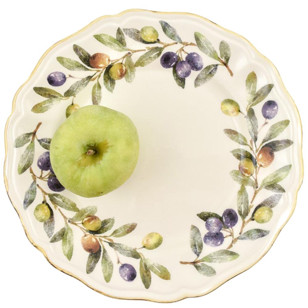 Набор обеденных тарелок Villa Grazia Оливы и маслины на 6 персон