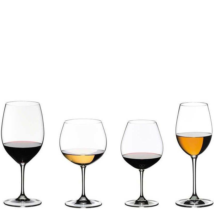 Набор из 4-х бокалов для дегустации Riedel Vinum