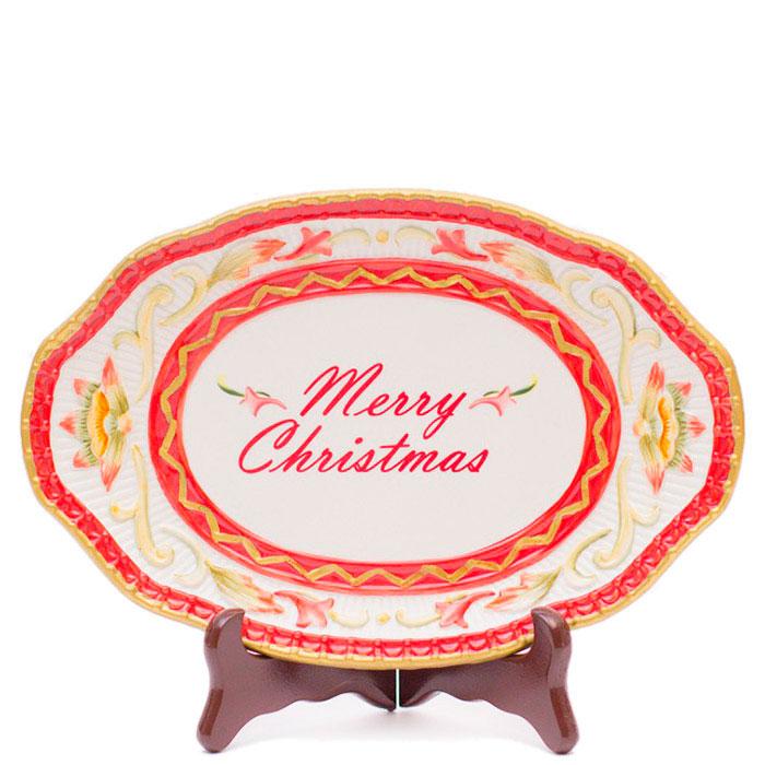 Блюдо Fitz and Floyd Merry Christmas