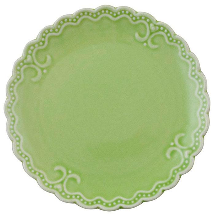 Тарелка для сладкого Palais Royal Зефир салатового цвета