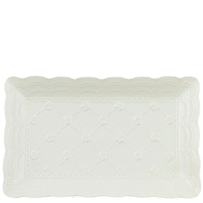 Маленькое блюдо Palais Royal Кружево прямоугольной формы