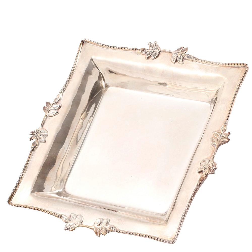 Посеребренная конфетница Royal Family Шеффилд прямоугольной формы