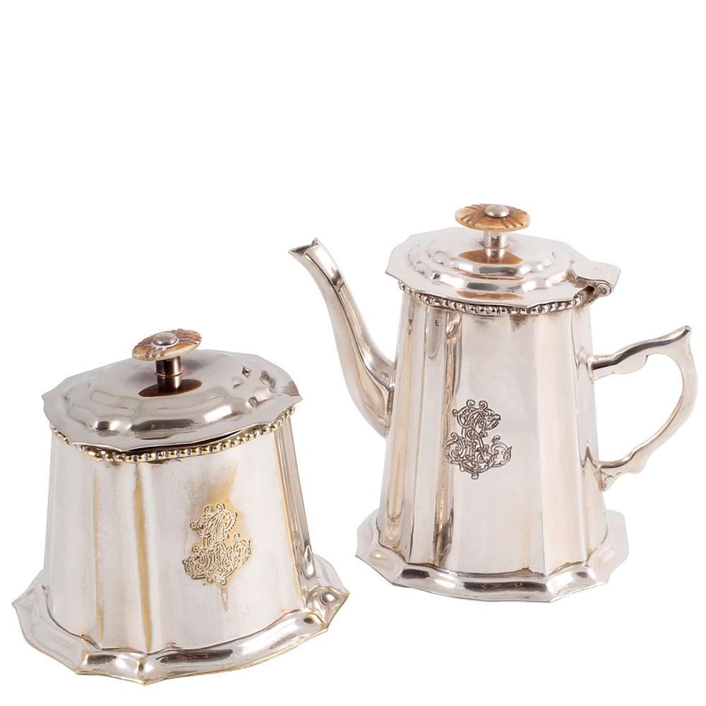 Кофейник с сахарницей Royal Family Шеффилд