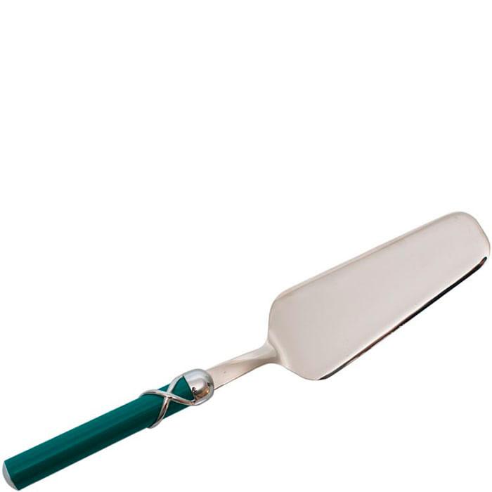 Лопатка для сладкого Rivadossi Fiocco с зеленой ручкой