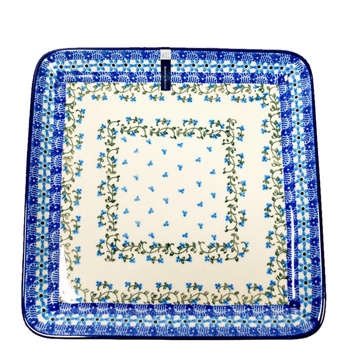 Блюдо Ceramika Artystyczna квадратное Виноградная лоза