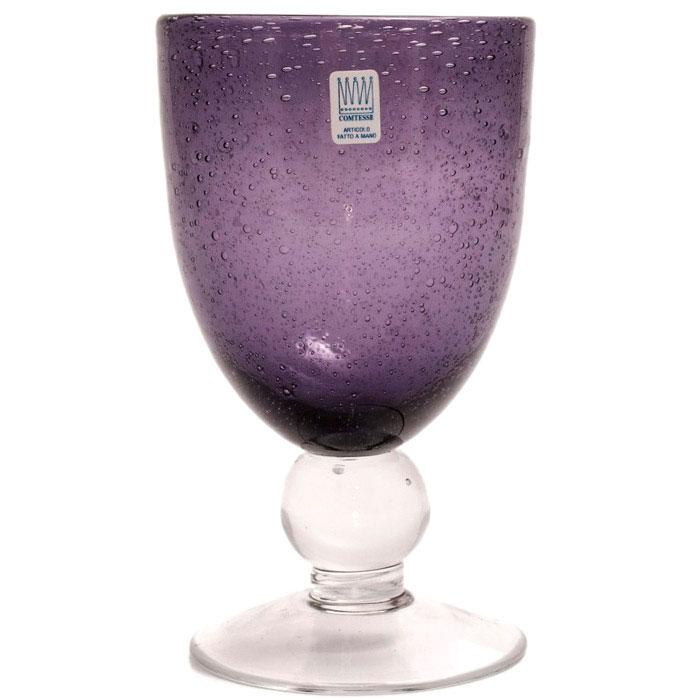 Бокал для воды Comtesse Milano Matisse фиолетового цвета
