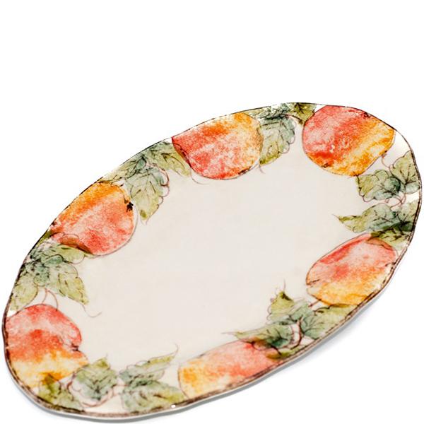 Блюдо овальное Bizzirri Персики
