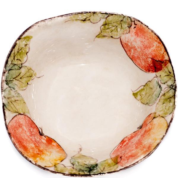Тарелка для супа Bizzirri Персики