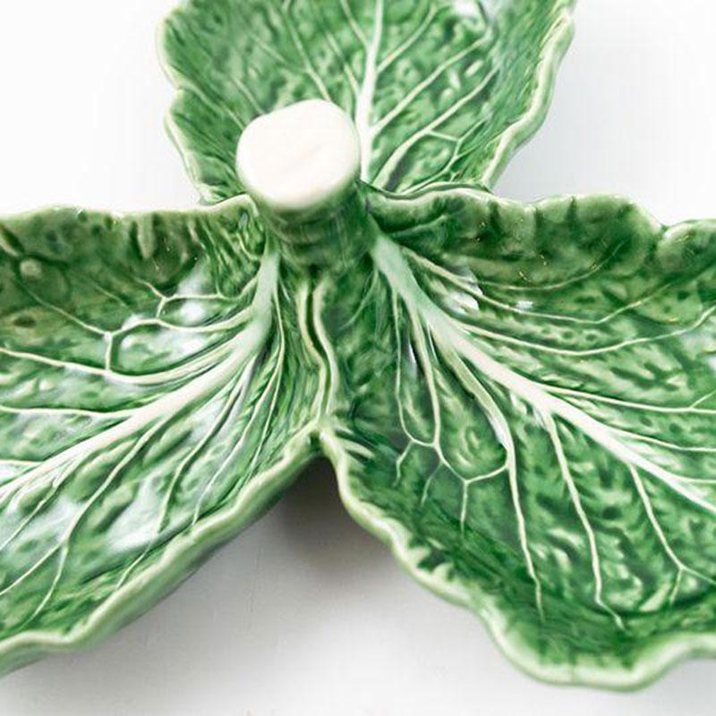 Менажница Bordallo Pinheiro Капуста из керамики