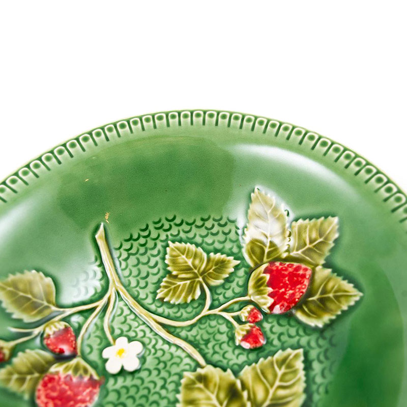 Тарелка для супа Bordallo Pinheiro Клубника 18,5см