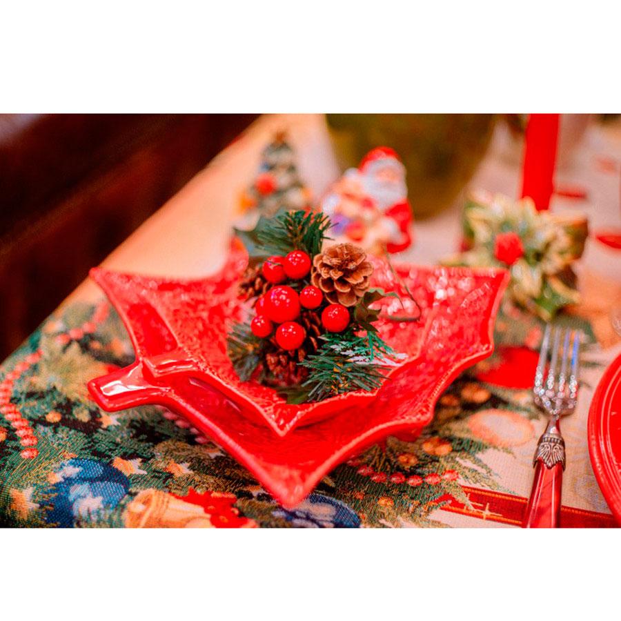 Блюдо для закусок в виде елки Bordallo Pinheiro Рождество 27,5x23,5см