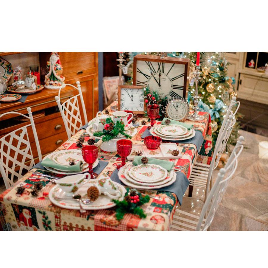 Соусник Bordallo Pinheiro Рождество белого цвета