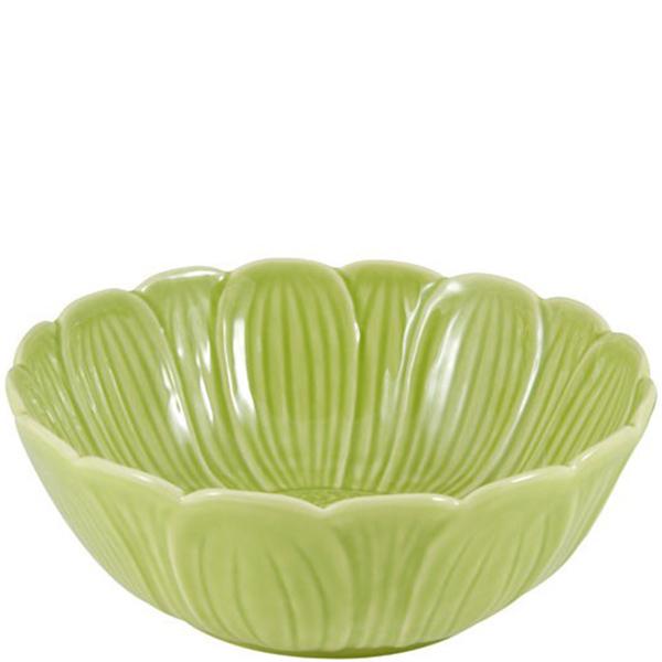 Салатник Bordallo Pinheiro Кувшинка зеленого цвета