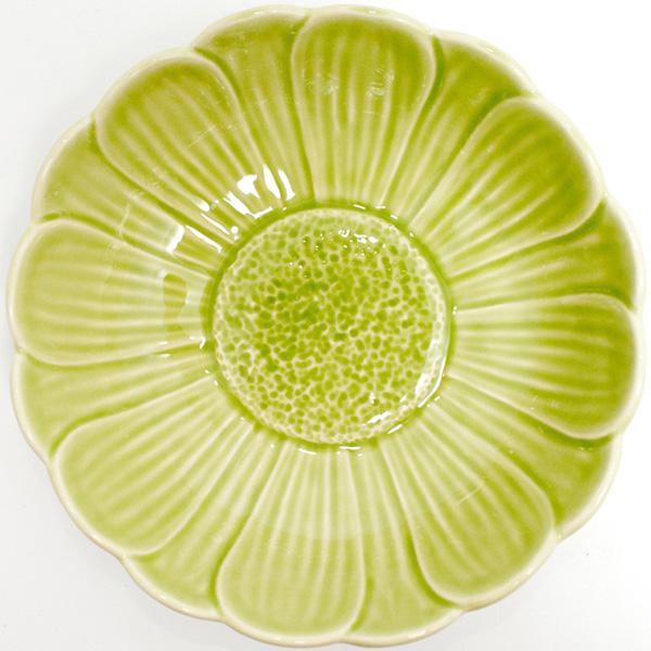 Набор из 6 пиал Bordallo Pinheiro Кувшинка зеленого цвета