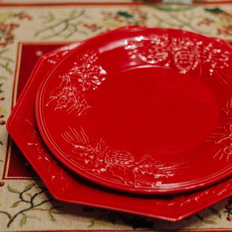 Десертная тарелка Bordallo Pinheiro Зима