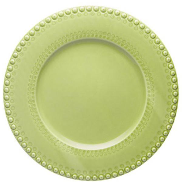 Светло-зеленое блюдо Bordallo Pinheiro Фантазия
