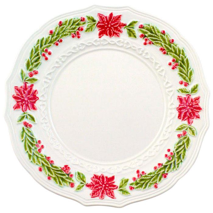 Обеденная тарелка Bordallo Pinheiro Рождество