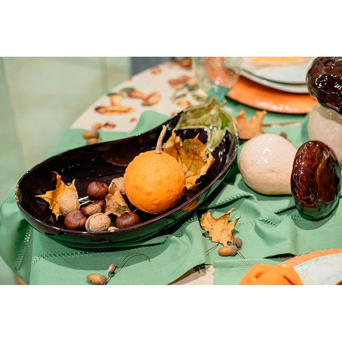Большое блюдо Bordallo Pinheiro Баклажан