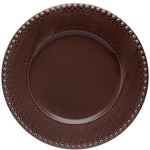 Блюдо Bordallo Pinheiro Фантазия коричневого цвета