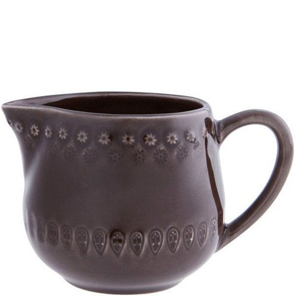 Молочник Bordallo Pinheiro Фантазия коричневого цвета
