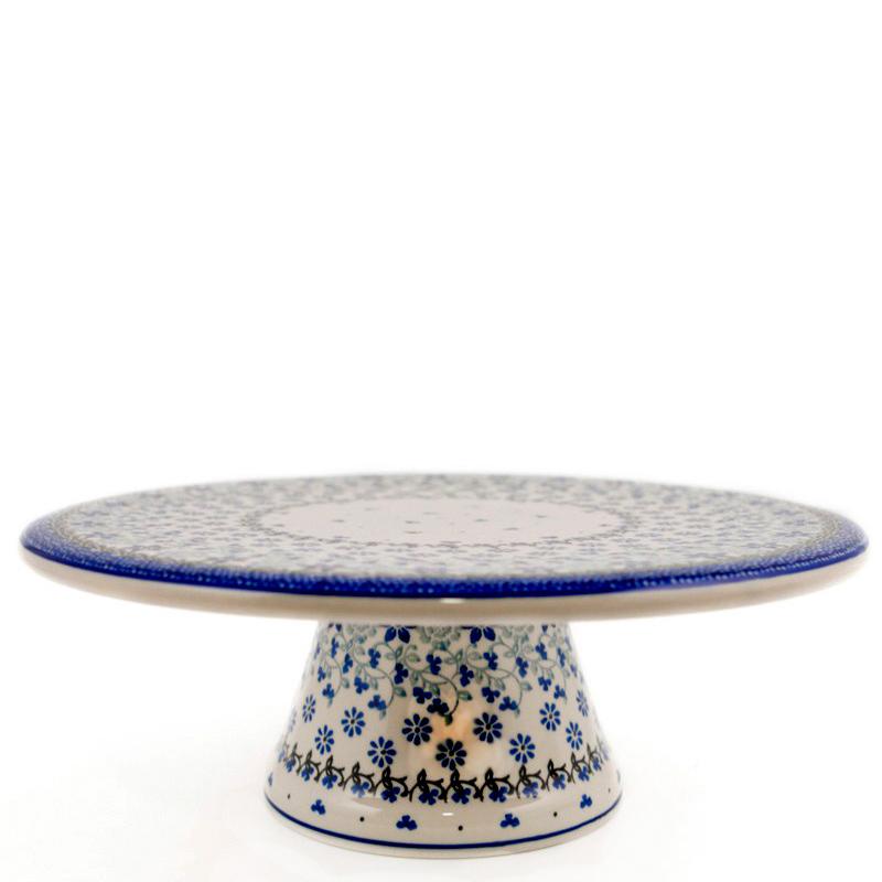 Тортовница Ceramika Artystyczna Полевые цветы