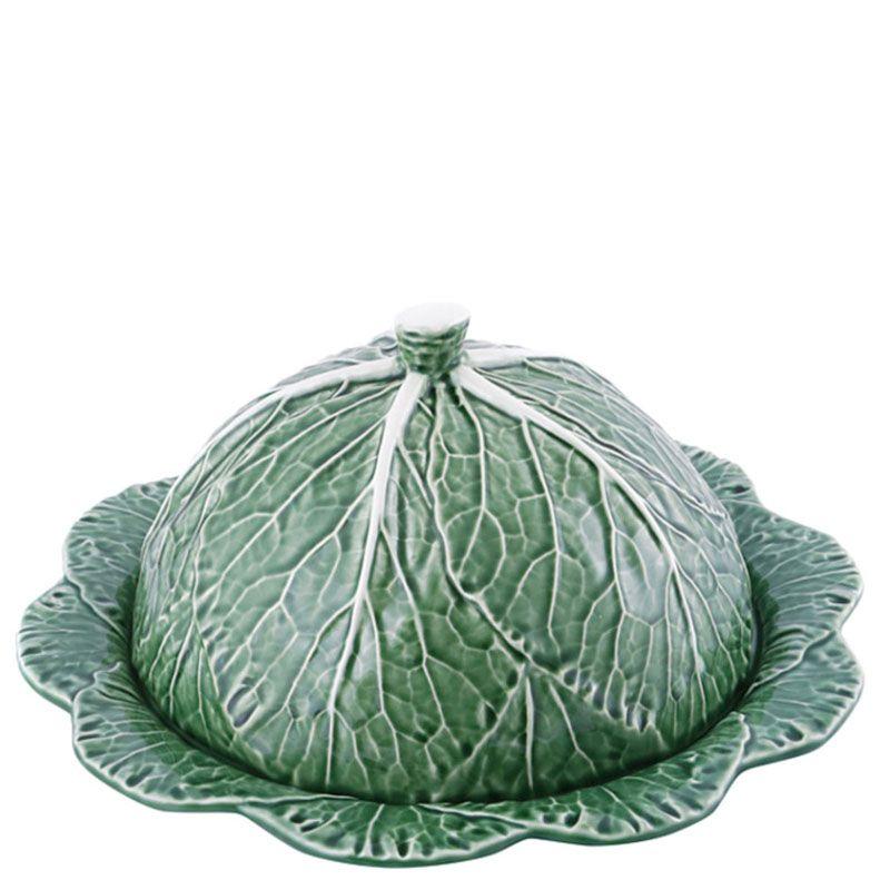 Блюдо для блинов Bordallo Pinheiro Капуста с крышкой