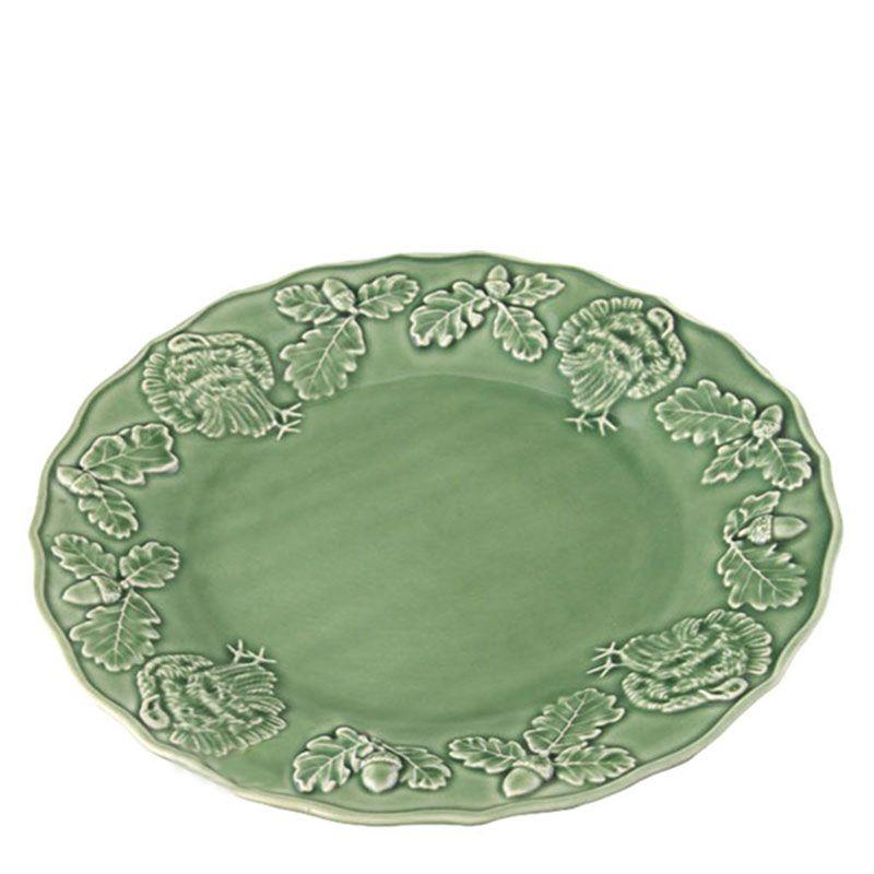 Керамическая тарелка Bordallo Pinheiro с узорами