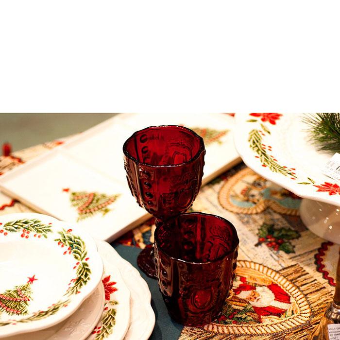 Набор стаканов с узором Livellara Rococo