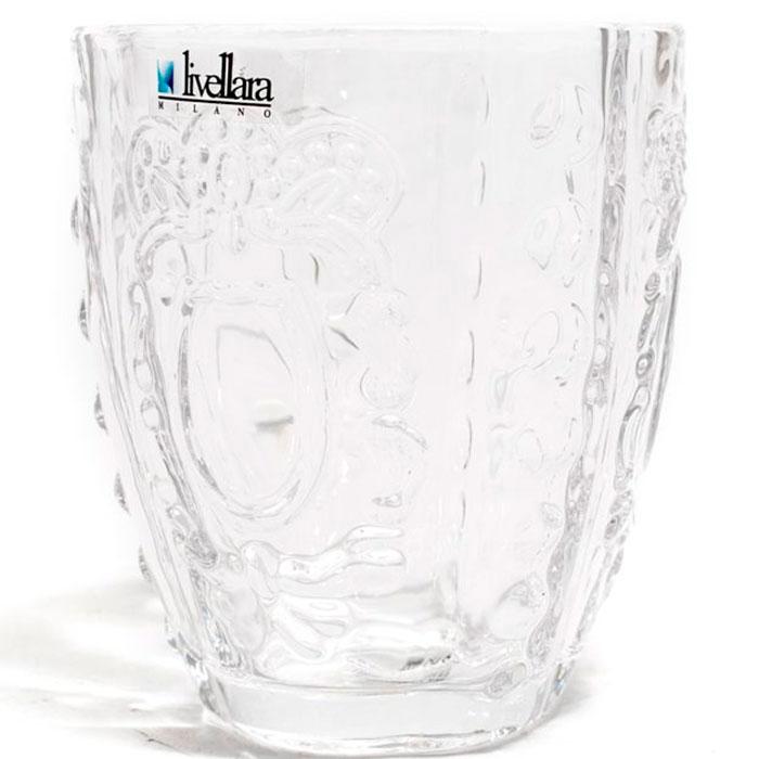 Набор прозрачных стаканов Livellara Rococo