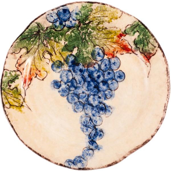 Тарелка десертная Bizzirri Виноград