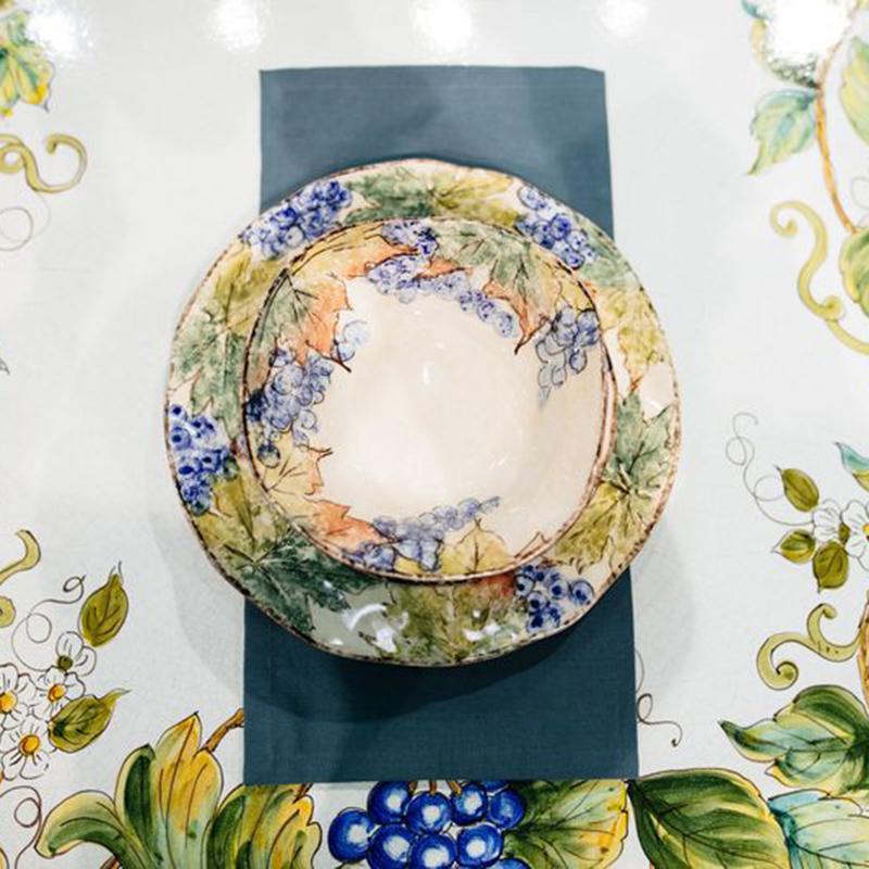Набор обеденных тарелок Bizzirri Виноград