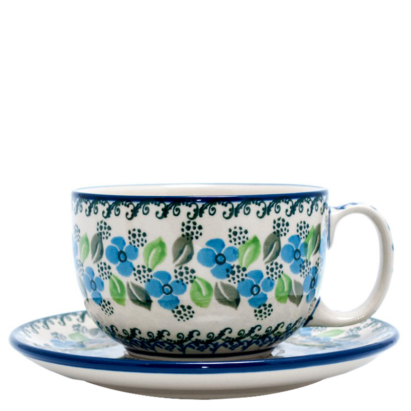 Чашка с блюдцем Ceramika Artystyczna Вербена