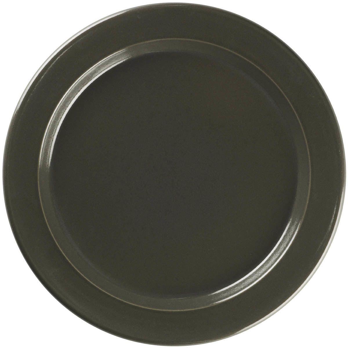 Тарелка обеденная Emile Henry Natural Chic Poivre 28 см