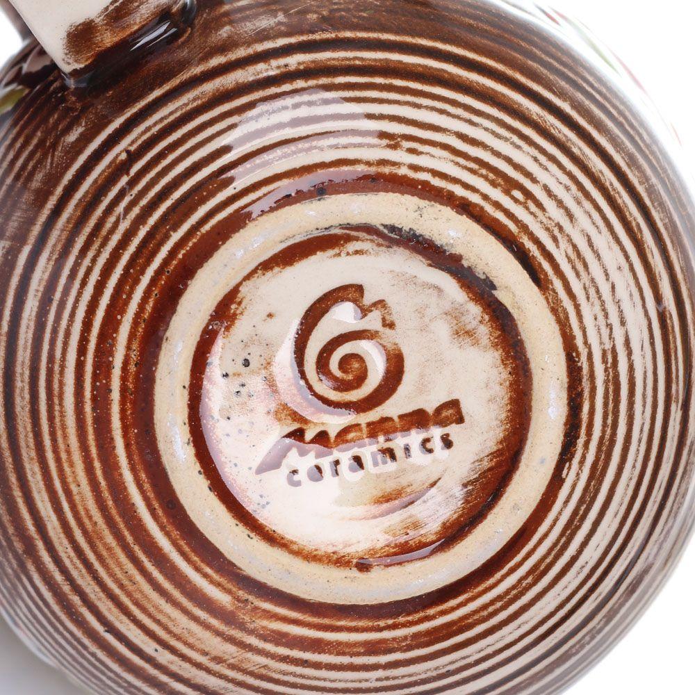 Набор из 2 чашек Manna Ceramics ручной работы в коричневых тонах 300 мл